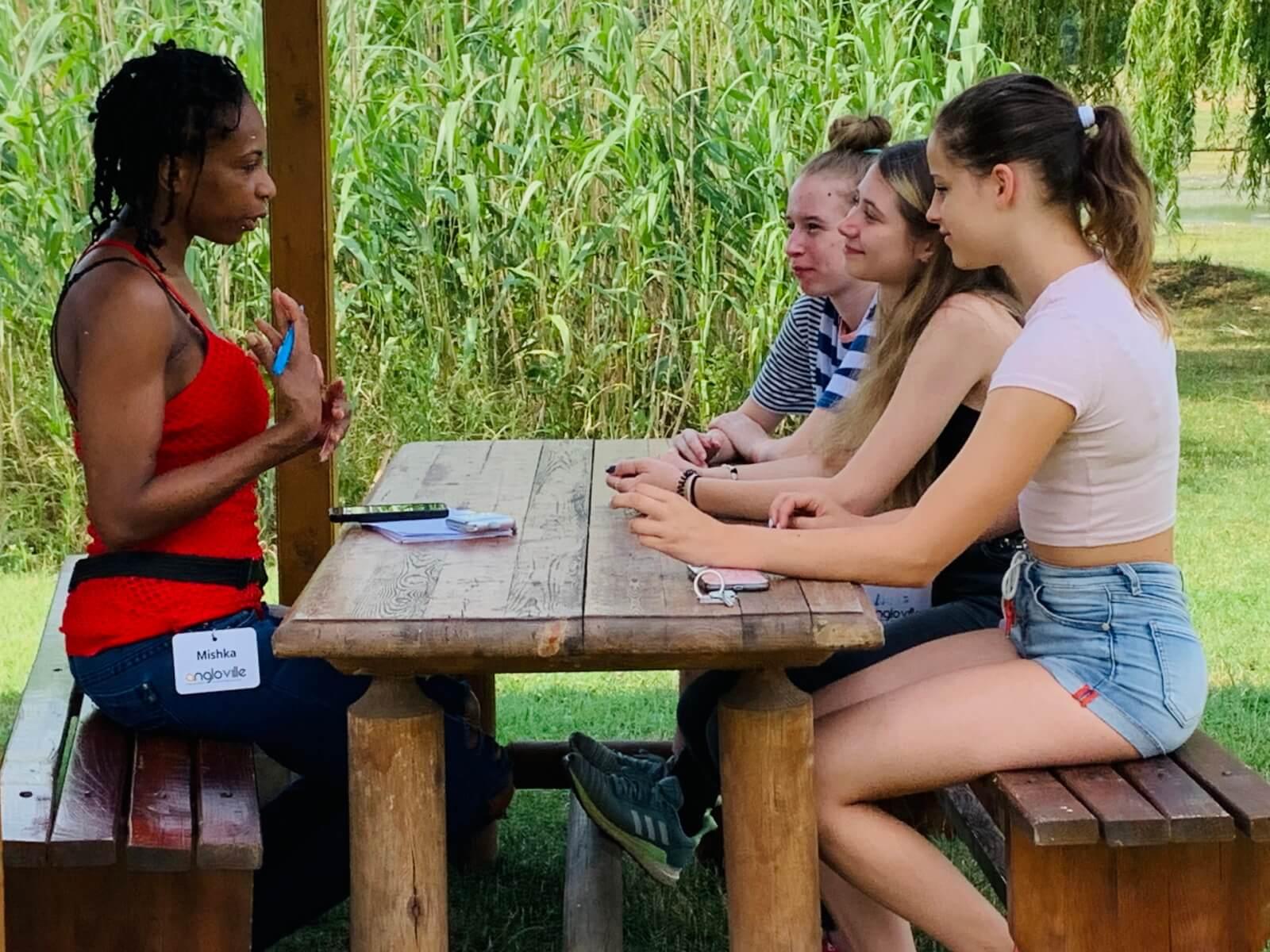 Beszédközpontú angol tábor oktatók